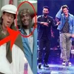Remo D'Souza with Shah Rukh Khan in Pardes