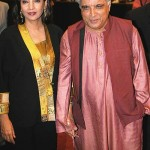 Shabana Azmi with husband Javed Akhtar