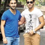 Aadar with his brother