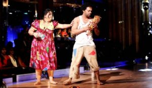 Bharti Singh and Savio Barnes in 'Jhalak Dikhhla Jaa Season 5'