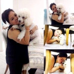 Bharti Singh loves dogs