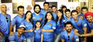Bharti Singh with other 'Chandigarh Cubs' team members in 'BCL 2'