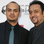Gulshan Grover with his son