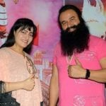 Gurmeet Ram Rahim With Honeypreet