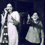 "Hritik Roshan With Sridevi in Bhagwaan Dada"" (1986)"