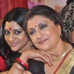 Konkona Sen Sharma with her mother