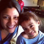 Konkona Sen Sharma with her son