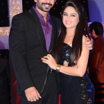 Mahhi Vij with her husband