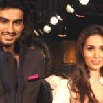 Malaika Arora Khan with Arjun Kapoor