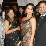 Malaika Arora Khan with her parents and sister