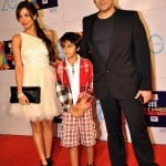 Malaika Arora Khan with hushand and son