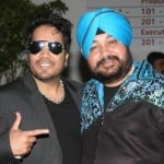 Mika Singh with brother Daler Mehndi