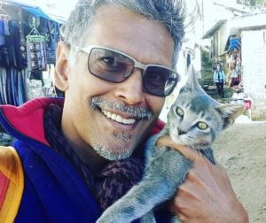 Milind Soman loves animals