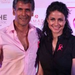 Milind Soman with Gul Panag