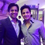 Mohit Malhotra with his brother