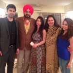 Navjot Singh Sidhu with family
