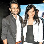 Neha Sharma with Jackky Bhagnani