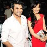 Neha Sharma with Ram Charan