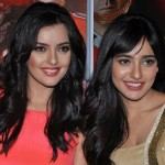 Neha Sharma with her sister
