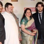 Neil Nitin Mukesh with family