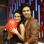 Pulkit Samrat with Mouni Roy