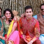 Pulkit Samrat with his family