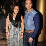 Pulkit Samrat with his wife Ex-Shweta Rohira