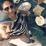 Raftaar with his mother
