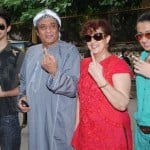 Ranjeet with his family