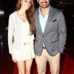Rannvijay Singh with his wife