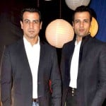 Ronit Roy with his brother