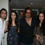 Shakti Kapoor with his family
