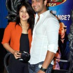 Sharad Kelkar with his wife