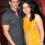 Sharman Joshi with his wife