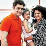 Shiney Ahuja with his family