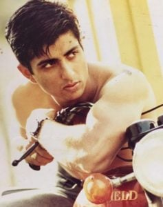 Sonu Sood in his modelling days