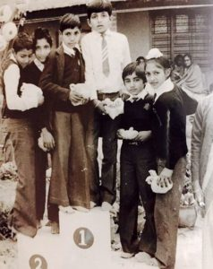 Sonu Sood in his school days