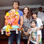 Sonu Sood with his family