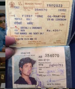 Sonu Sood's monthly train pass