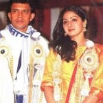 Sridevi with Mithun Chakraborty