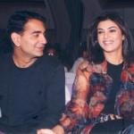 Sushmita Sen with Sanjay Narang