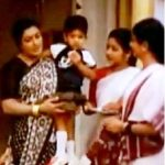 Allu Arjun as child artist in Vijetha