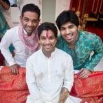 Allu Arjun with his brothers