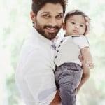 Allu Arjun with his son