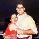 Aman Verma with his sister