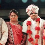Amit Shah with his family