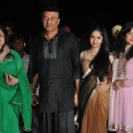 Anu Malik with his family