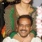 Anushka Shetty with her father