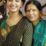 Anushka Shetty with her mother