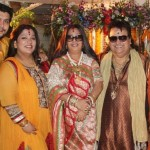 Bappi Lahiri with his family
